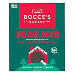 Bocce's Bakery Holiday Bones Dog Treat - Natural, Turkey, Sweet Potato & Cranberries