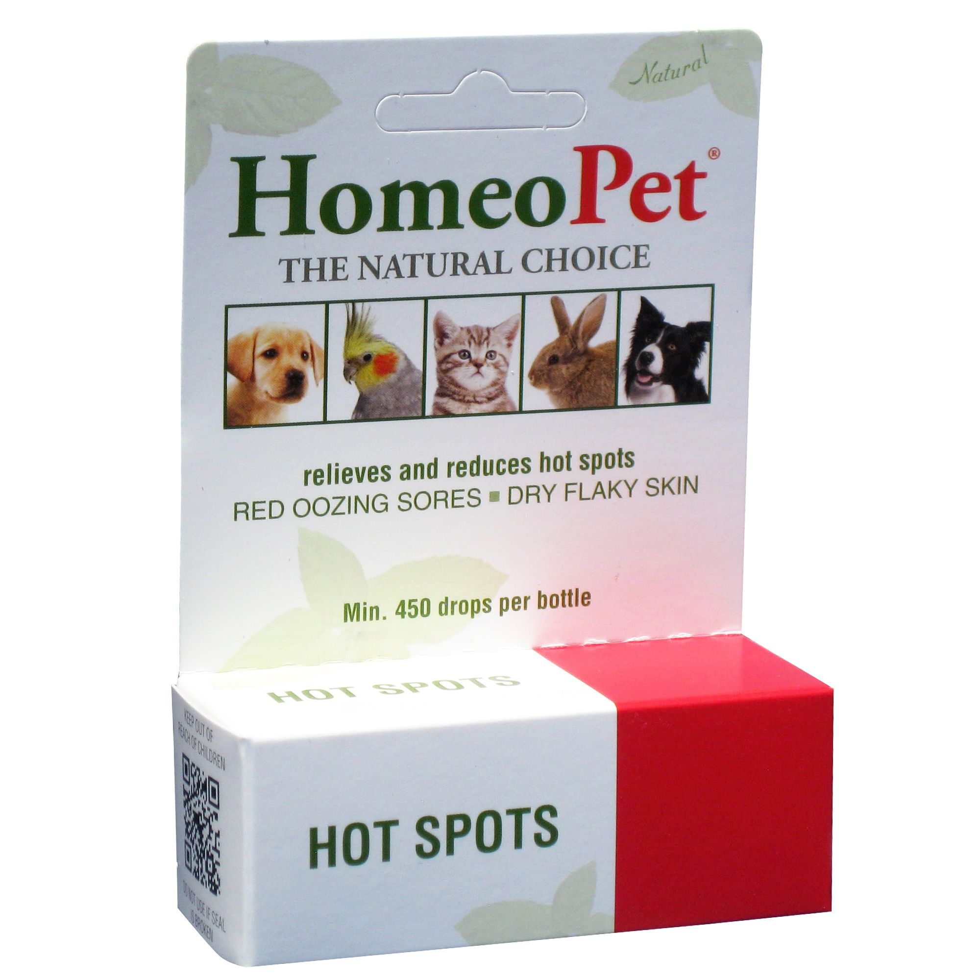 Homeopet Hot Spot Relief Small Pet Vitamins Supplements