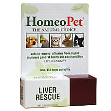 HomeoPet® Liver Rescue Treatment