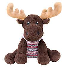 Beaver Canoe Moose Dog Toy - Plush
