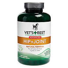 Vet's Best® Advanced Hip + Joint Chewable Dog Tablets