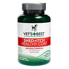 Vet's Best® Shed + Itch Healthy Coat Chewable Dog Tablets
