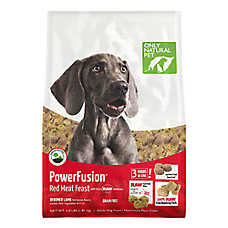 Only Natural Pet Power Fusion Adult Dog Food - Raw, Grain Free, Red Meat Feast