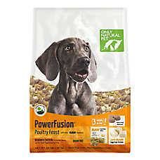 Only Natural Pet Power Fusion Adult Dog Food - Raw, Grain Free, Poultry Feast