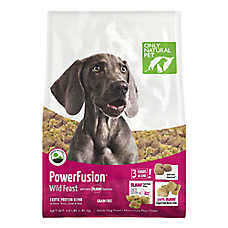 Only Natural Pet Power Fusion Adult Dog Food - Raw, Grain Free, Wild Feast