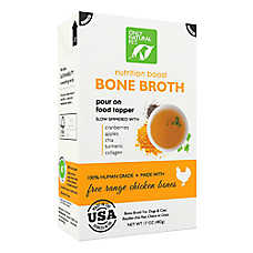 Only Natural Pet Nutrition Boost Bone Broth Pet Food Topper - Cage Free Chicken
