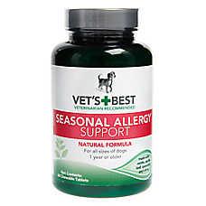 Vet's Best® Seasonal Allergy Support Chewable Dog Tablets