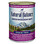 Natural Balance Limited Ingredient Diets Dog Food - Grain Free, Sweet Potato & Venison
