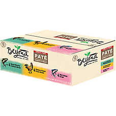 Purina® Beyond® Cat Food - Natural, Grain Free, Variety Pack, 12ct