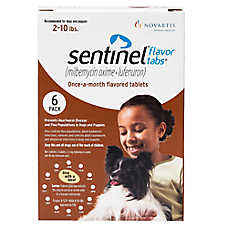 Sentinel Tablets for Dogs 6 Count