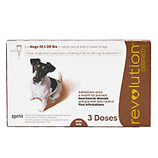 Revolution for Dogs 10.1-20 lbs