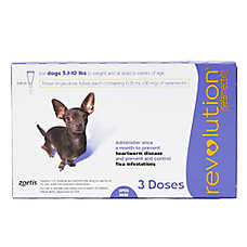 Revolution for Dogs 5.1-10 lbs