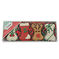 Pet Holiday™ Holiday Cookies Decorated Bones Dog Treat