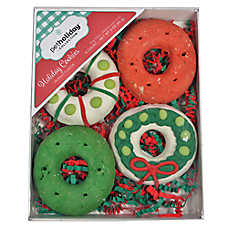 Pet Holiday™ Holiday Cookies Decorated Wreaths Dog Treat