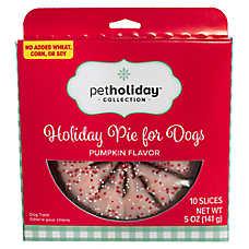 Pet Holiday™ Holiday Pie Dog Treat - Pumpkin Flavor