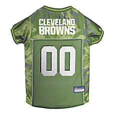 Cleveland Browns NFL Camo Jersey