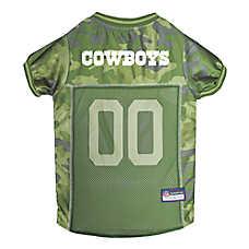 Dallas Cowboys NFL Camo Jersey