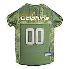Miami Dolphins NFL Camo Jersey
