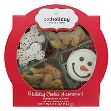 Pet Holiday™ Holiday Cookie Assortment Dog Treat - Peppermint
