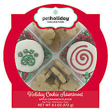 Pet Holiday™ Holiday Cookie Assortment Dog Treat - Apple Cinnamon