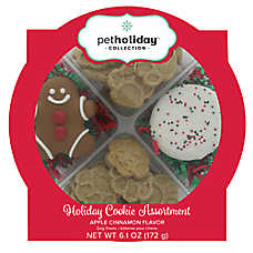 Pet Holiday™ Holiday Cookie Assortment Dog Treat - Apple Cinnamon