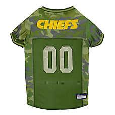 Kansas City Chiefs NFL Camo Jersey