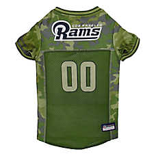 Los Angeles Rams NFL Camo Jersey