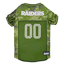 Oakland Raiders NFL Camo Jersey
