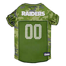 Oakland Raiders NFL Camo Jersey
