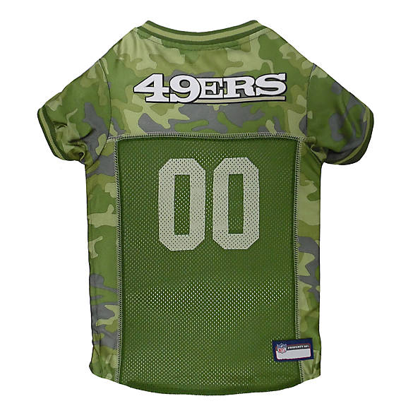 San Francisco 49ers NFL Camo Jersey  d96eed1eb