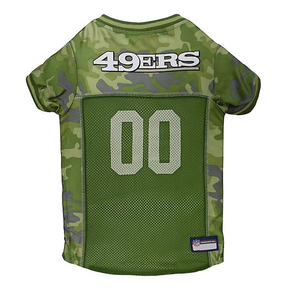 San Francisco 49ers NFL Camo Jersey  d96eed1eb