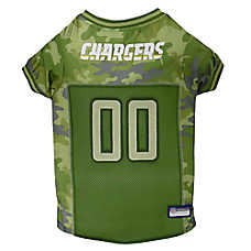 Los Angeles Chargers NFL Camo Jersey
