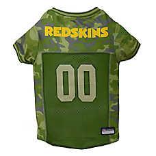 Washington Redskins NFL Camo Jersey