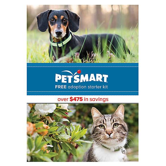 Adoption Kit Starter Kit For Dogs Puppies Cats Kittens Petsmart
