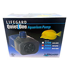 Lifegard Quiet One® Pro Series 3000 Aquarium Water Pump