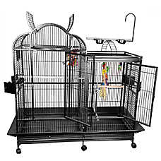 A&E Cage Company Split Level Playtop Bird Cage