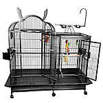 A&E Cage Company Split Level Playtop Bird Cage