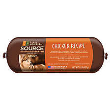 Simply Nourish™ SOURCE Adult Dog Food Roll - Natural, Grain Free, Chicken Recipe