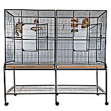 A&E Cage Company Double Flight Bird Cage