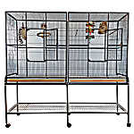 A&E Cage Company Double Flight Bird Cage