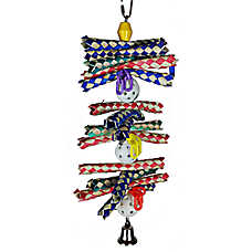 A&E Cage Company Finger Stack Bird Toy