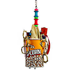 A&E Cage Company Movie Time Bird Toy