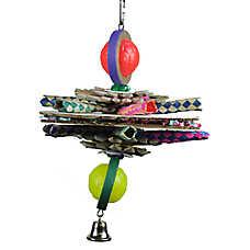 A&E Cage Company 1960's UFO Bird Toy