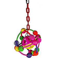 A&E Cage Company Space Ball Bird Toy