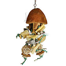 A&E Cage Company Java Bush Bird Toy