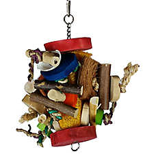 A&E Cage Company Fun Spong Bird Toy