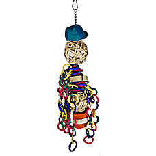 A&E Cage Company Linked Chain Bird Toy