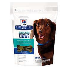 Hill's® Prescription Diet® Dental Care Small Dog Chew - Clean Mint