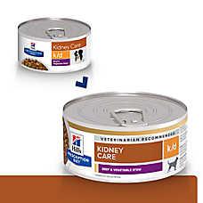 Hill's® Prescription Diet® k/d Kidney Care Dog Food - Beef & Vegetable Stew