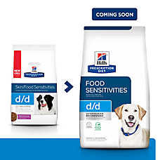 Hill's® Prescription Diet® d/d Skin/Food Sensitivies Dog Food - Grain Free, Potato & Duck